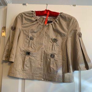 Jackets & Blazers - Tan Bolero jacket